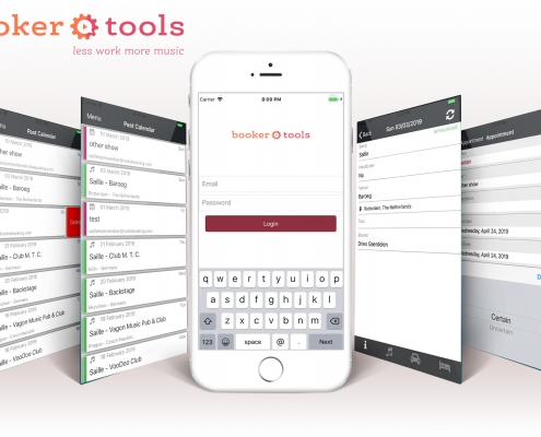 Booker Tools app - App for iPhone and Android smartphones, for our Booker Tools product